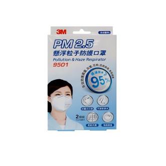 3M Nexcxare™ PM2.5懸浮粒子防護口罩 2個裝