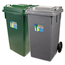 新海洋 GEO120 膠垃圾桶 120L