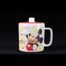 "Mickey Fun-Tastic Friends - 米奇老鼠 4"" 耳杯連蓋"