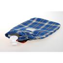 Fashy 2.0L 藍色格仔暖水袋