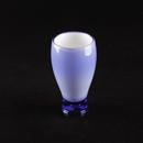 8596 塑膠有色水杯 14oz (藍/紅色)