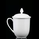 白骨瓷金鍾蓋杯