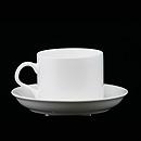 白骨瓷茶杯連碟