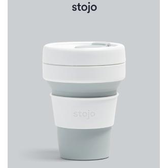Stojo Pocket Cup 環保可摺疊杯 12oz/355ml - 鴿子灰