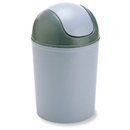 新海洋 404P 圓膠搖蓋垃圾桶 5L