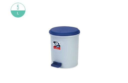 新海洋 410 圆胶脚踏垃圾桶