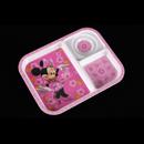 """Minnie Fun-Tastic Friends - 米妮老鼠 10.5"""" 3格長方托盤"""