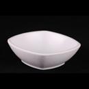 """白色陶面 5"""" 正方形沙津碗"""